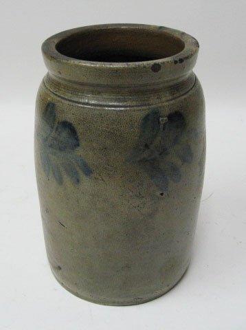 4: A Small Stoneware Crock,