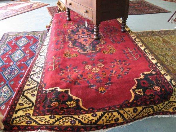 9: Persian Khurrosan Rug,