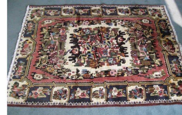 24: Persian Baktiari Rug,