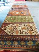 129: A Bakhtiari Silk Rug,