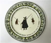 72 Royal Doulton Isaac Walton Ware Plate