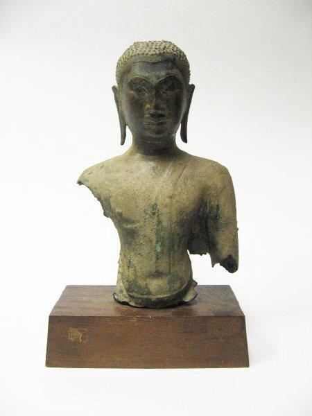 113: A Very Early Thai Bodhisattva Figure,