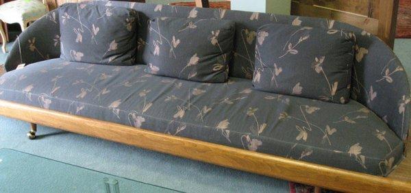 1004: Thayer Coggin Upholstered Platform Sofa
