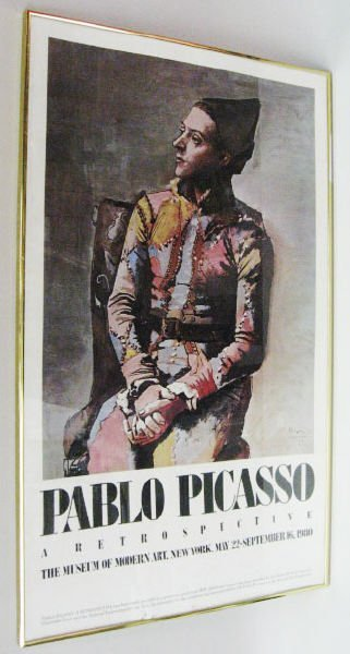 "1007: Pablo Picasso Poster ""A Retrospective MOMA"