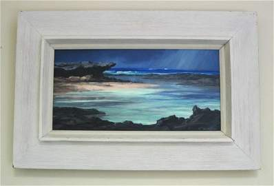1311: Lloyd Sexton Oil on Canvas Seascape