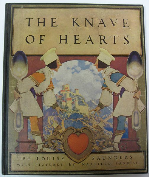206: Maxfield Parrish (illus.), The Knave of Hearts,