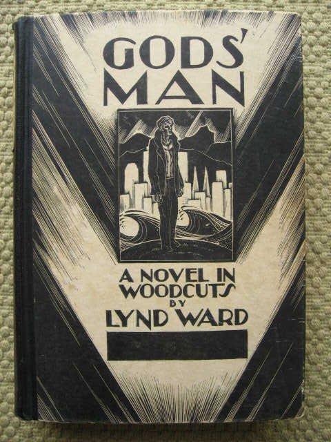 217: Gods' Man: A novel in woodcuts by Lynd Ward