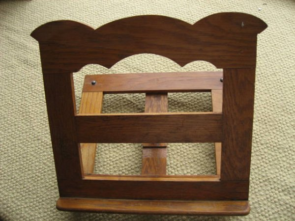 219: Table-top adjustable bookstand