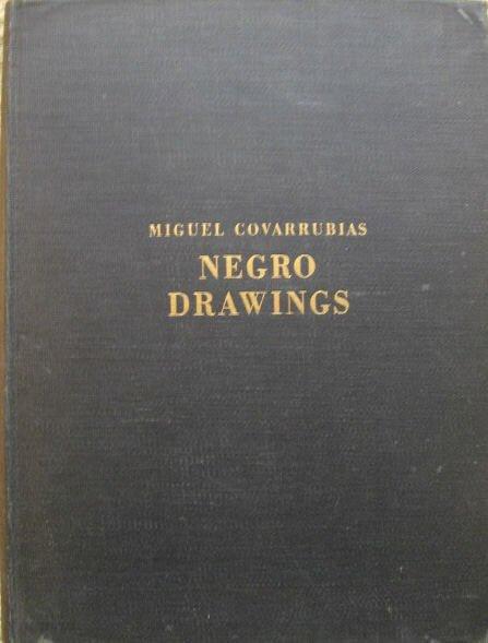 293: Covarrubias, Miguel.  Negro Drawings