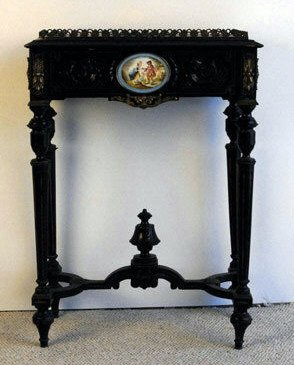 1001: A 19th C Continental Plant Stand,