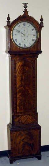 1010: A L18th/E19th C Whitelaw Tall Case Clock,