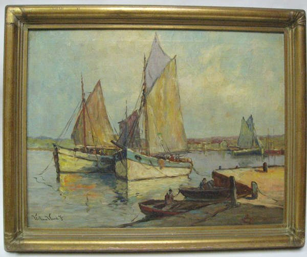 1011: A William Ward, Jr. Painting,