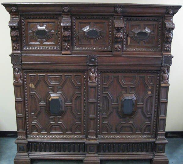 1018: A 17th C English Cabinet,