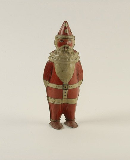 1603: Lindstrom Tin Santa Windup,