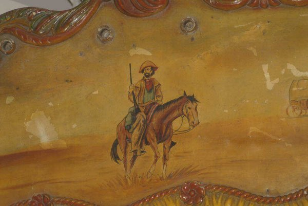 1610A: Carnival Proscenium Arch w/ Western scene,