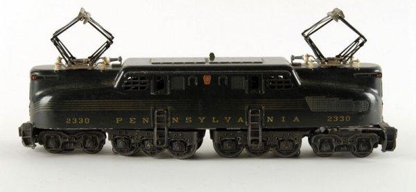 1615: Lionel O gauge #2330 Pennsylvania Engine,