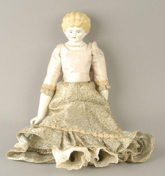"1619: Porcelain Head Doll ""Ethel"""