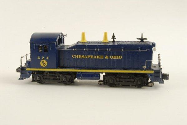 1620: Lionel O gauge #624 C & O Yard Switching Engine,
