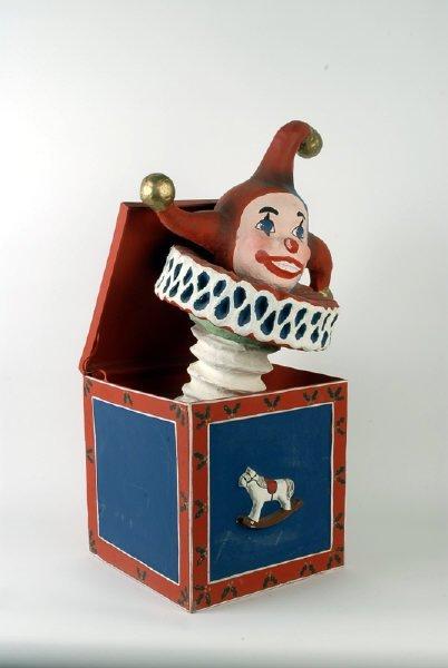 1621: Jack-in-the-Box Decorative Figure