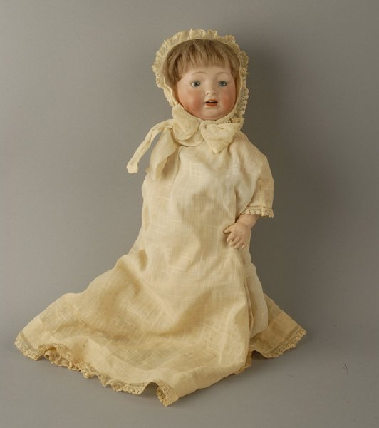 1623: Morimura Brothers Bisque Head Doll