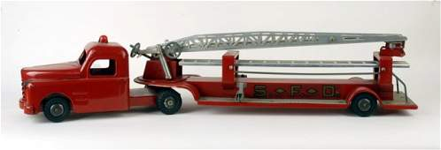 1635: Structo Aerial Fire Truck,