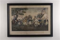 "1032: ""Surrender of General Burgoyne......"","