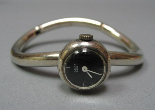 24: Eliot Sculptural Watch Bracelet with