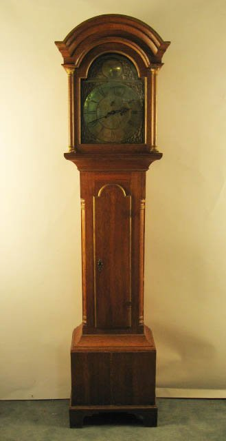 1013: A Thomas Ross Tall Case Clock,