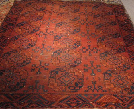1015: Antique Ersari Turkoman Rug
