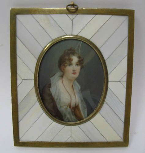 1023: A 19th C Miniature Portrait