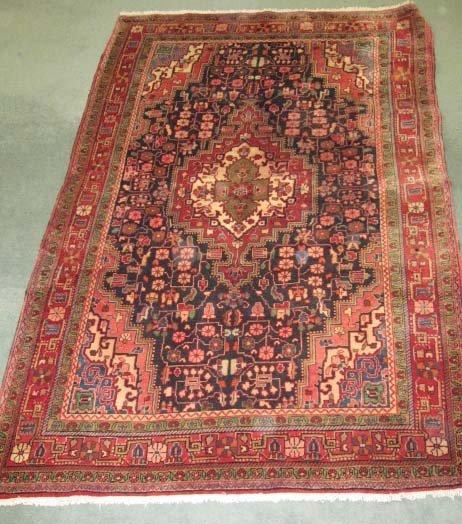 18: Old Persian Sarouk Rug,
