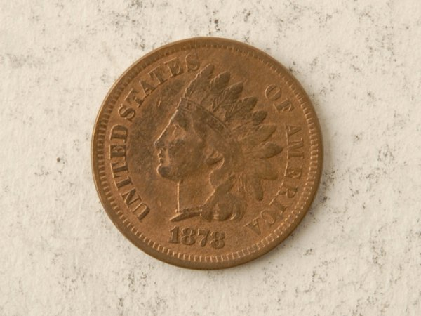 22: 1873 Indian Cent