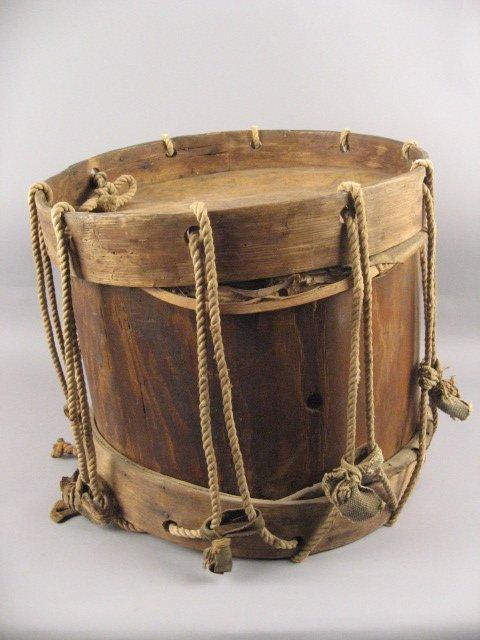346: Rare Confederate Drum w/ family provenance,