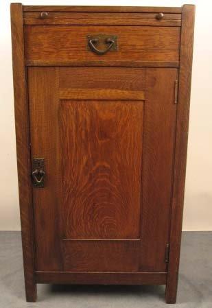 1004: A Gustav Stickley Liquor Cabinet,