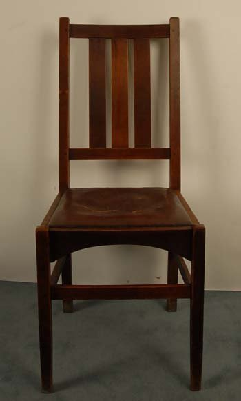 1013: A Stickley Arts & Crafts Side Chair,