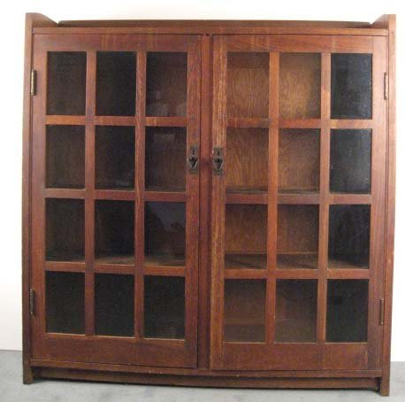 1016: A Gustav Stickley Bookcase,