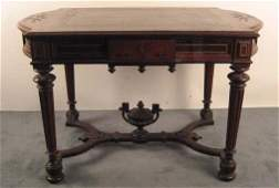 1255: A Renaissance Revival Library Table,