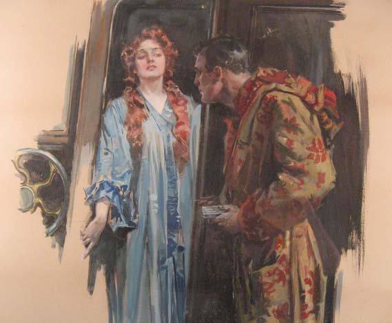 1533: A Howard Chandler Christy Mixed Media, - 2