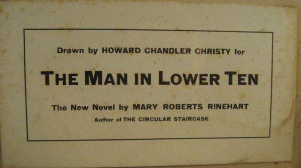 1533: A Howard Chandler Christy Mixed Media, - 3