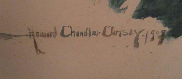 1533: A Howard Chandler Christy Mixed Media, - 5