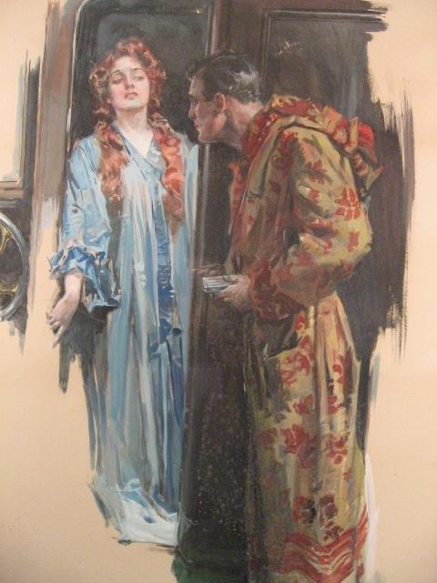 1533: A Howard Chandler Christy Mixed Media, - 8