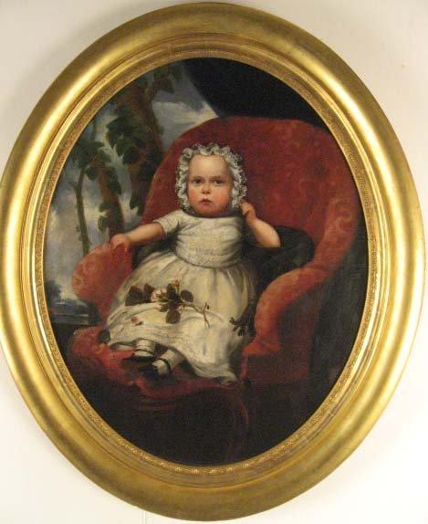 1535: A 19th C Baby's Portrait,