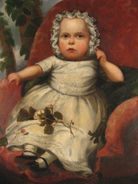 1535: A 19th C Baby's Portrait, - 2
