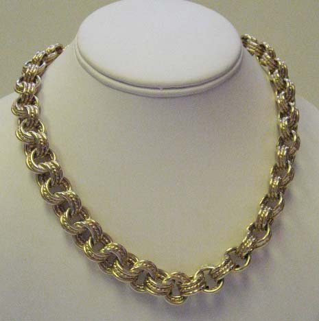 2027: 14k Yellow Gold Curb Link Necklace