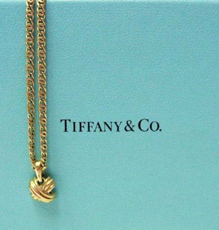 2034: 18k Yellow Gold Byzantine Link Necklace
