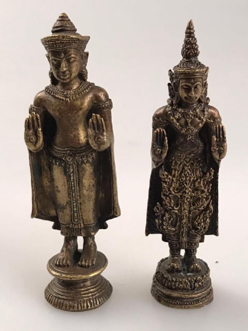 BUDDHA FIGURE (PAIR)