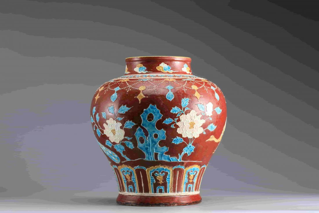 COLOR ENAMELS JAR