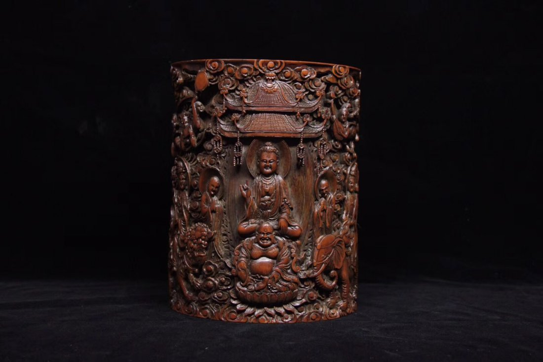 BAMBOO CARVED PENPOT