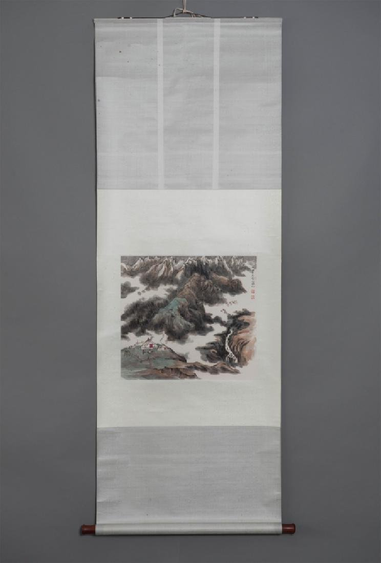 LANDSCAPE PAINTING ZHANG DINGSHAN STYLE
