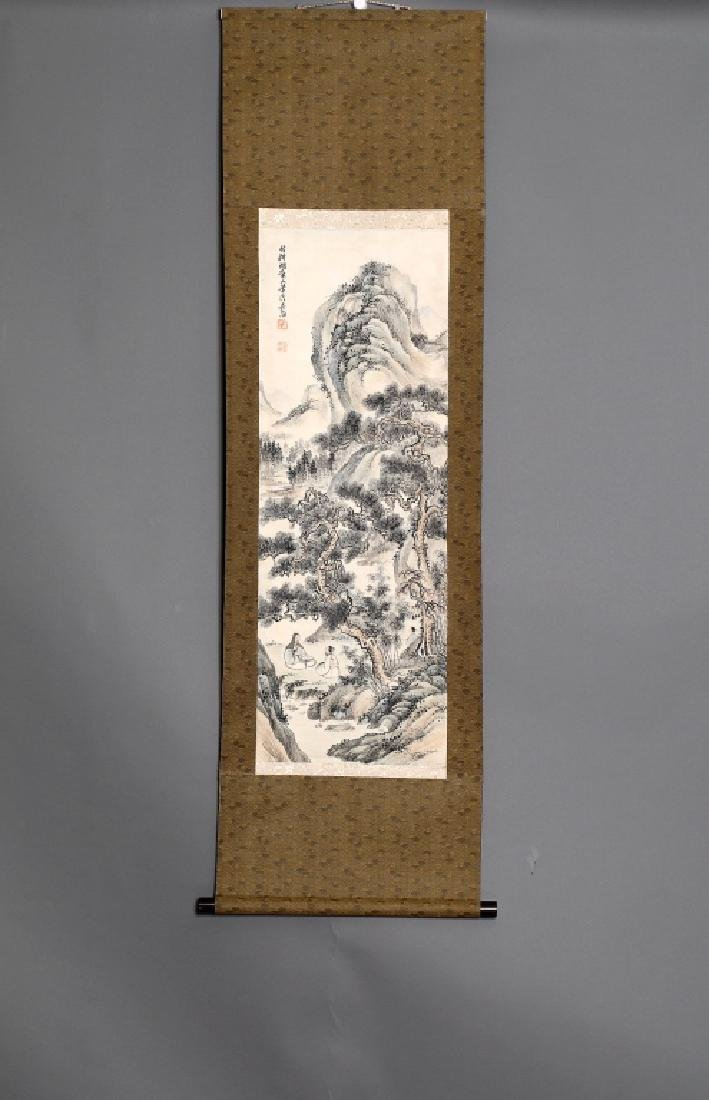 WU PAN STYLE LANDSCAPE PAINTING